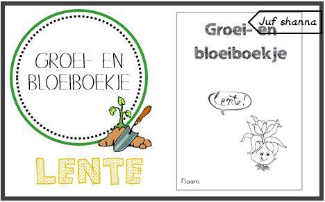 Groei & Bloeiboekje (lente!)