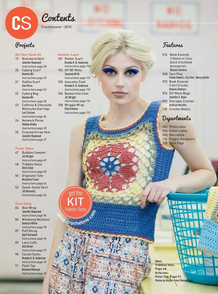67 best crochet_Dress up images on Pinterest | Kleidung häkeln ...