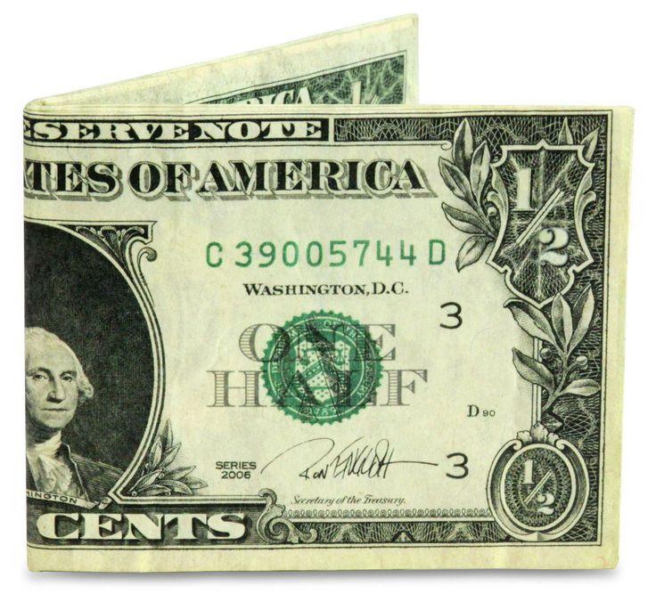 Chucklehead Toys - Half Dollar Mighty Wallet, $15.00 (http://www.chuckleheadtoys.com/half-dollar-mighty-wallet/)