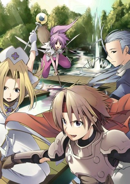 Tales of Phantasia - Mint, Arche, Cless, Chester