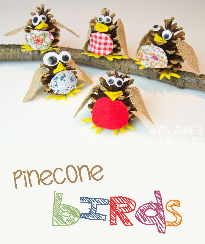 17 best images about girl scouts on pinterest girl scout for Pine cone christmas ornaments for kids