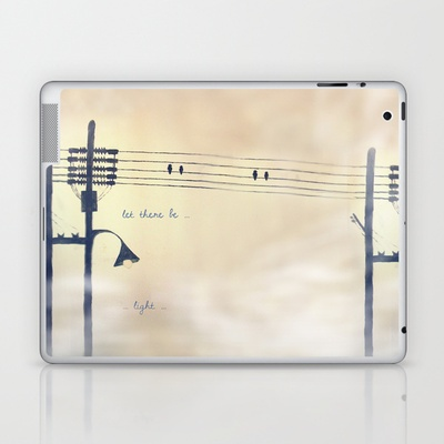Let there be light... Laptop & iPad Skin by Eltina Giannopoulou - $25.00