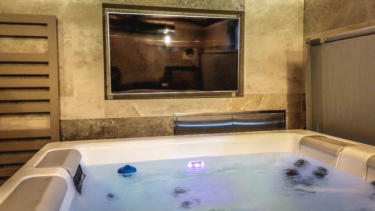 Interiérové wellness a luxusní vířivka