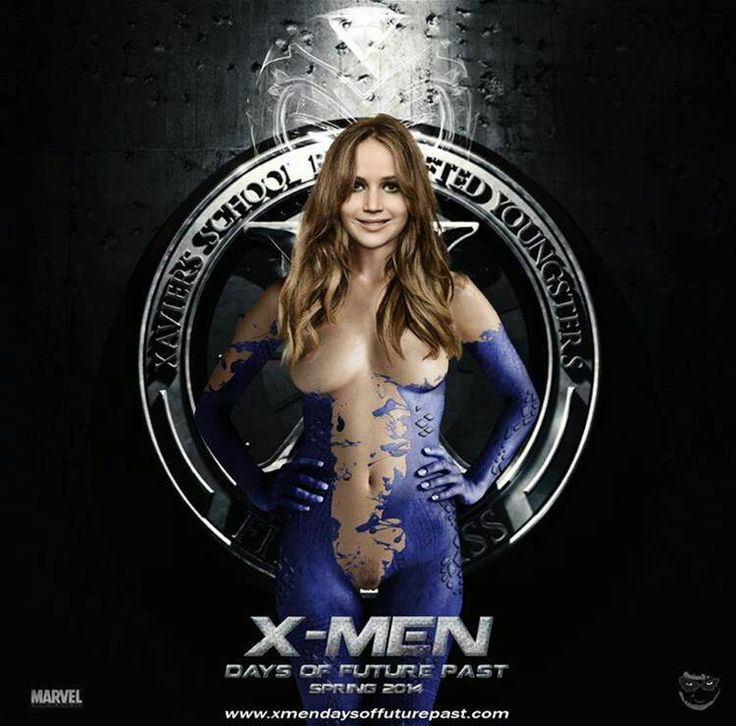 X-men movie women nude