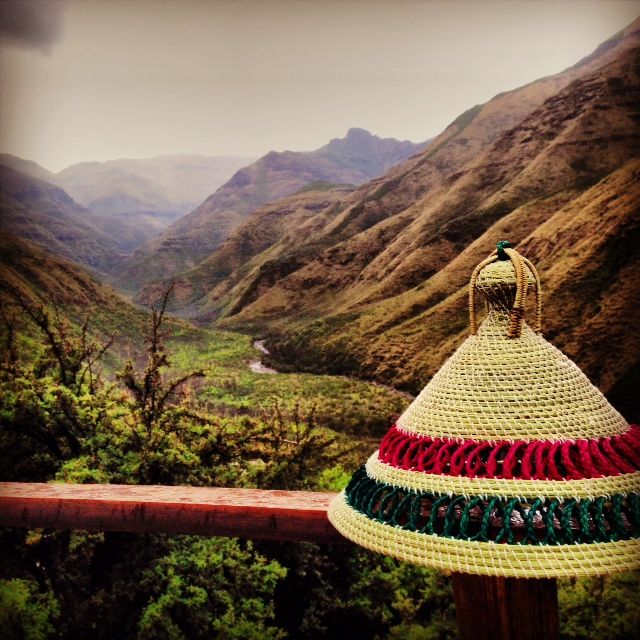 The view for the Lesotho Ultra 2013 #LUT2013