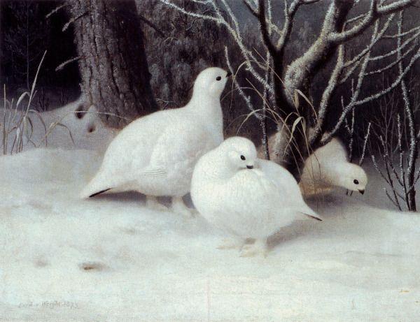 """""""Riekkoja"""" (1873) by Ferdinand von Wright"""