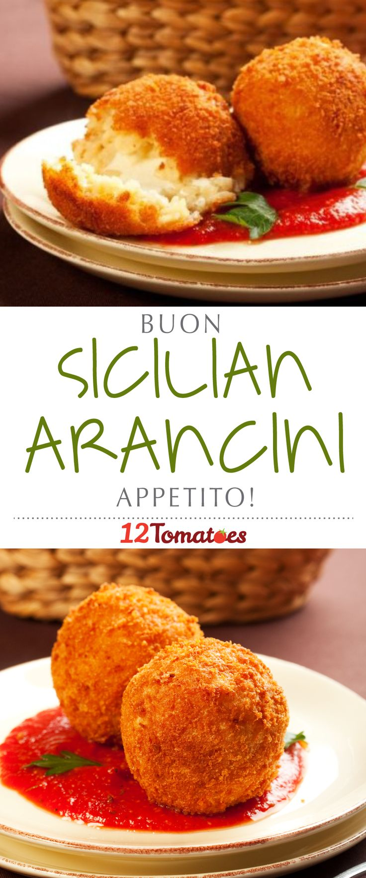 You'll find arancini  sold as street food throughout the Italian peninsula, but they truly belong to Sicily. These decadent balls of fried rice are known as little oranges thanks to their remarkable resemblance to one of the island's other specialities. Arancini are savory treats that shine as elegant appetizers on the dining room table or as an afternoon snack fresh off a food cart. They're just plain delicious.