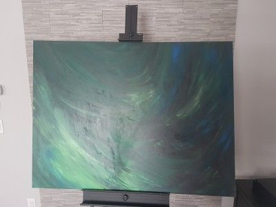 Opigy Abstract paintings LeoaFox - 36 inch X 48 inch