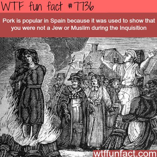 Spanish Inquisition - WTF fun facts