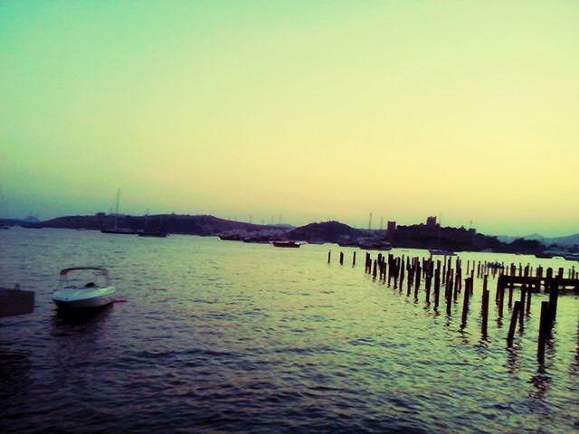 few metres away from Bodrum Pier