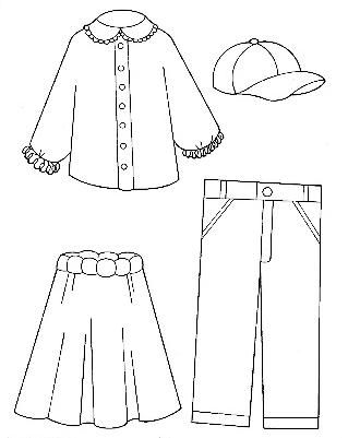 Fashion Dresses Coloring Pages