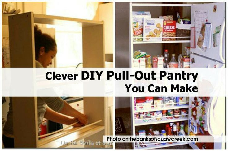 61 Best Pull Out Pantry Images On Pinterest