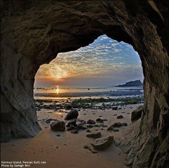Hormoz Island, Persian Gulf, Iran (Persian: جزیره هرمز- استان هرمزگان - خلیج فارس ) Photo by Sadegh Miri