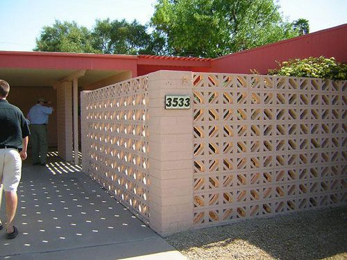 Decorative Block Wall 80 best concrete block & screens images on pinterest | concrete