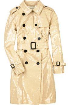 3.1 Phillip Lim Patent trench coat | NET-A-PORTER