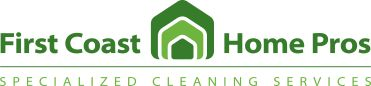 House cleaning services in Jacksonville, FL First Coast Home Pros is a full service residential house cleaning company with teams of specialists in a wide assortment of specialized home cleaning services including: -Housekeeping -Window cleaning -Carpet, rug & upholstery cleaning -Tile & grout cleaning -Air duct cleaning -Pressure washing  -And Many More!