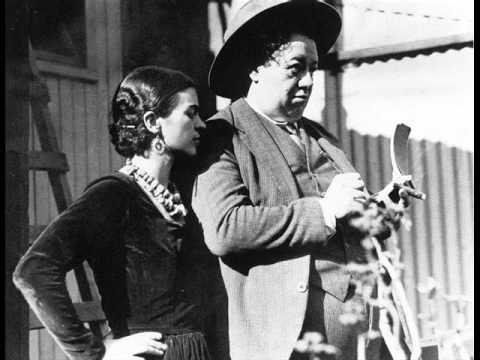"""""""Diego [Rivera] habla de la muerte de Frida"""". Fragmento de las """"Conversaciones sobre historia"""", del Instituto Mexicano de la Radio."""
