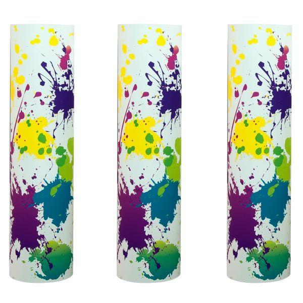 Splatter Art Medium Columns Kit (set of 3)