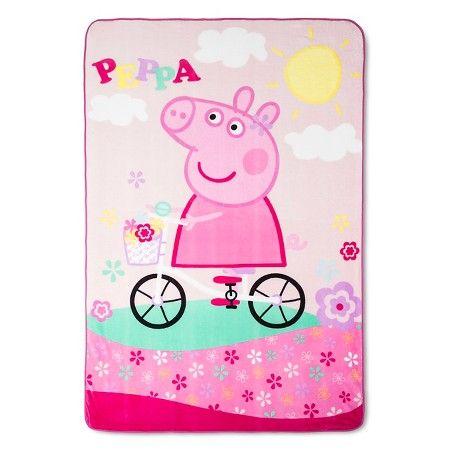 Peppa Pig Blanket - Multicolor (Twin) : Target
