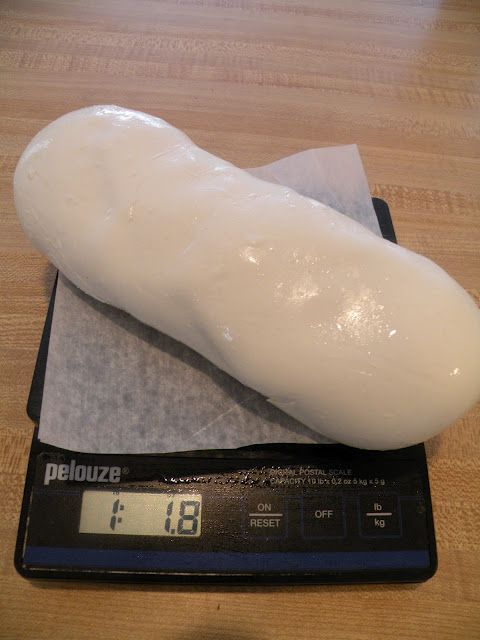 One gallon of milk will yield about 1 pound of cheese. (I paid $2.39 for the milk, so 1 pound of fresh mozzarella was less than $2.50). Homemade Mozzarella Cheese is one of the easiest cheeses to make, it only takes 30 minutes and the taste can't be beat!