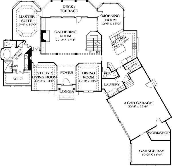 Inspiration Web Design  best Floor plans images on Pinterest Master suite House floor plans and Dream house plans