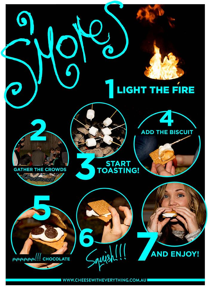 7 Easy Steps To Tantalising Smores
