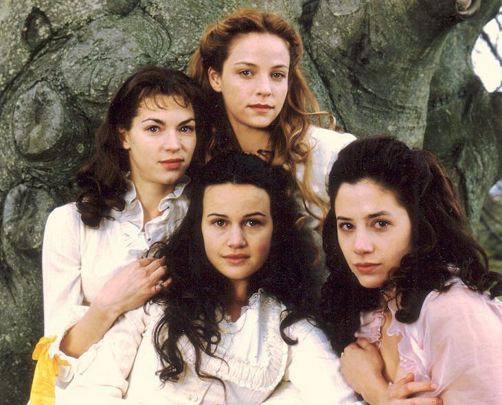 """The Buccaneers (1995) Starring: Rya Kihlstedt as Elizabeth """"Lizzy"""" Elmsworth, Alison Elliot as Virginia """"Jinny"""" St. George, Carla Gugino as Annabel """"Nan"""" St. George, and Mira Sorvino as Conchita """"Connie"""" Closson. Because of their """"new money"""" background, four American girls have difficulty breaking into the upper-crust society of New York. Laura Testvalley, Nan's governess, suggests a London season and thus the young women set sail for England and the unsuspecting English aristocracy."""