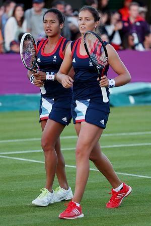 Heather Watson and Laura Robson