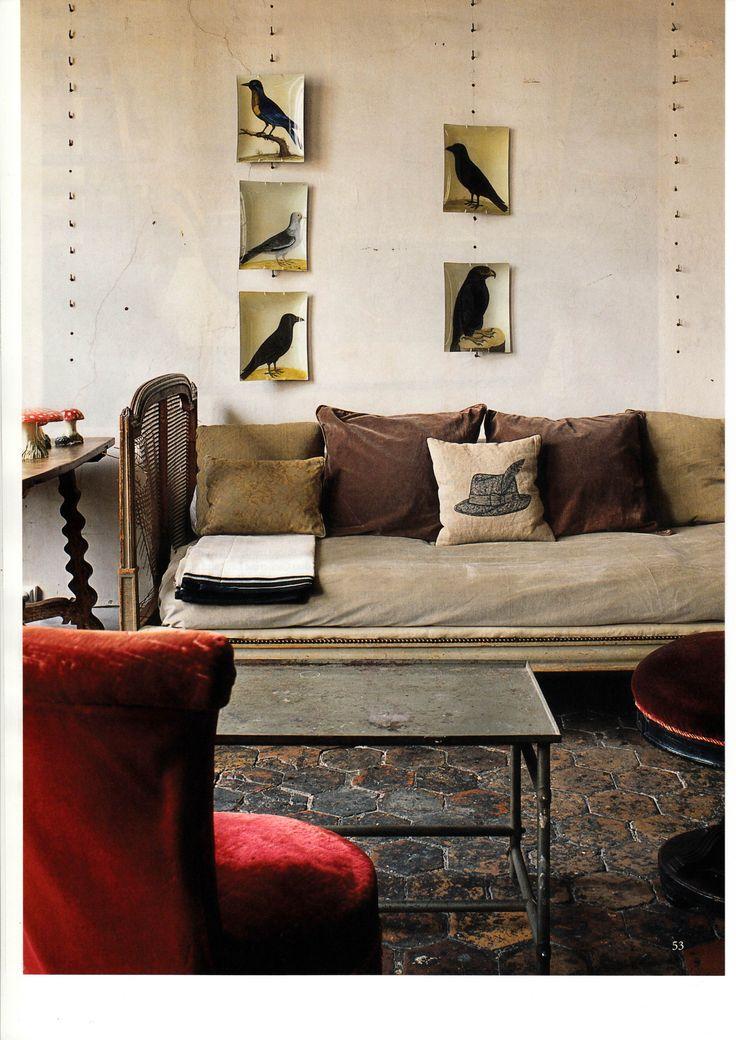 astier de villatte apartments photographed by ricardo labougle d w e l l pinterest bird. Black Bedroom Furniture Sets. Home Design Ideas