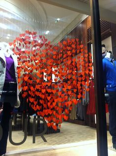 valentines window display - Google Search