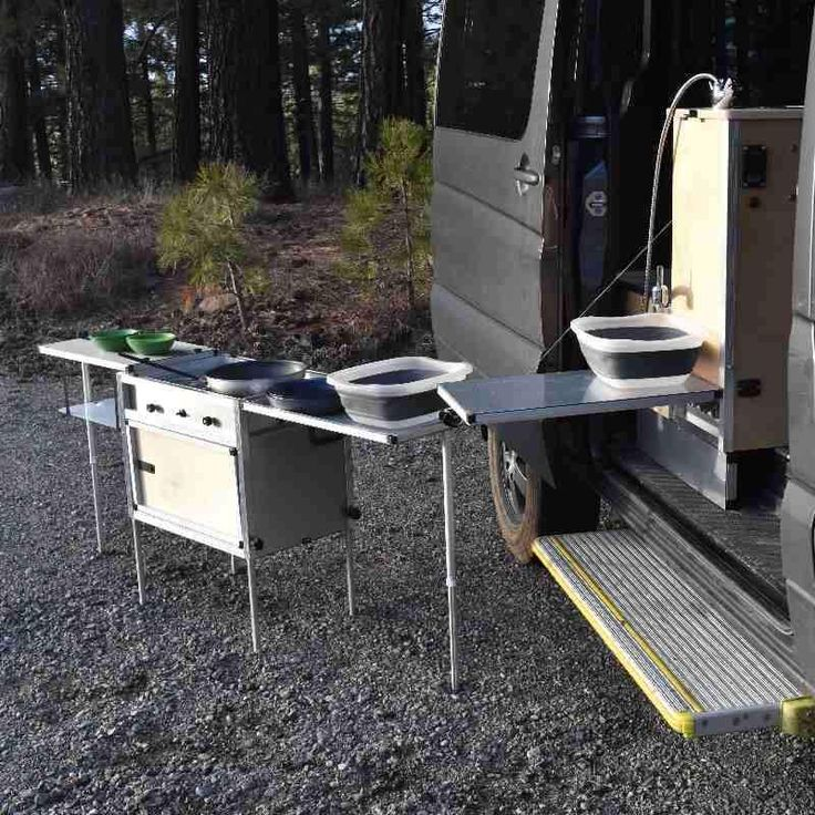 A Modular Campervan Kitchen Unit And High Performance Water System Designed To Make DIY Sprinter