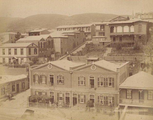Cerro Concepción                                                    Fuente:  Imágenes de Chile del 1900