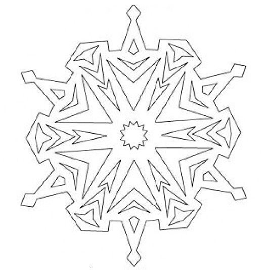 kostenlose Vorlagen für Schneeflocken aus Papier * Eiskönigin Party Dekoration mit Schneeflocken und Eiskristallen * Jetzt entdecken