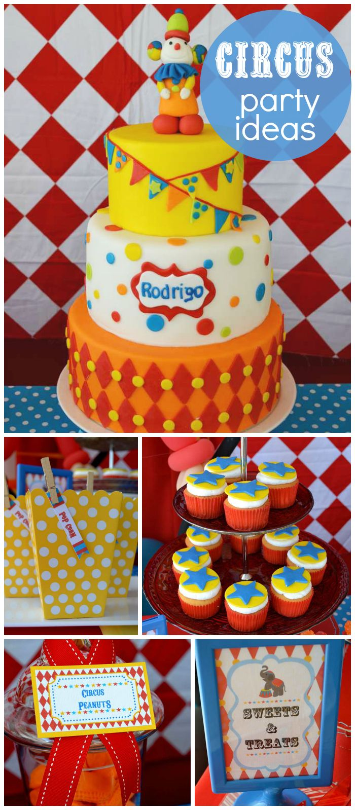 17 best images about cumple benja on pinterest mesas circus