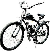 $385 Велосипед с мотором F50, мотовелосипед, веломопед, дырчик