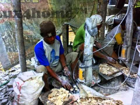 How it`s made - Lux4home™ Stone Mosaics & Stone Wall Claddings. 100% Stone, 100% hand Made... in Indonesia