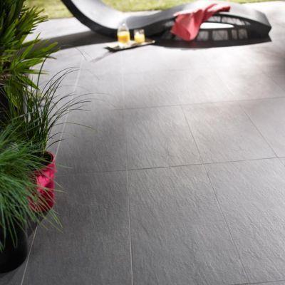 7 best Terrasse images on Pinterest Decks, Teak and Garden deco - carrelage pour cour exterieure
