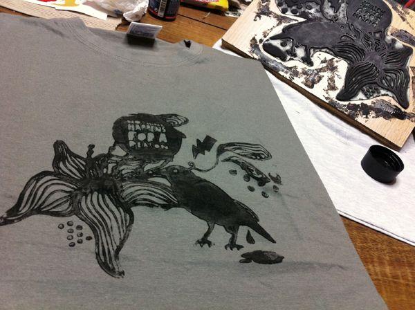 Stamp it! t-shirts by stelios spanoudakis, via Behance