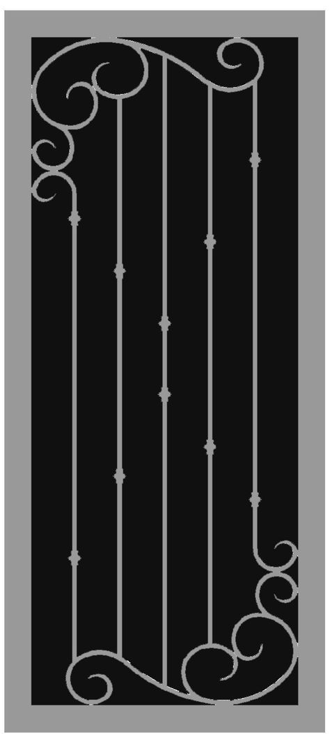 Steel Shield Security Door - Positano