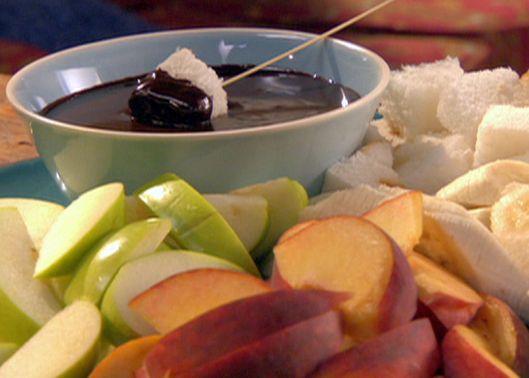 Chocolate Caramel Fondue from FoodNetwork.com
