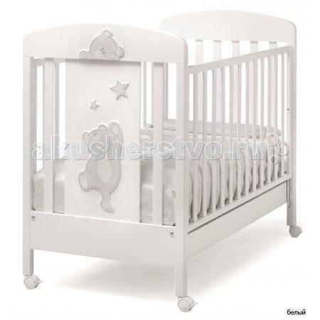 Erbesi Cucu  — 20600р. -----------------------------------------  Детская кроватка Erbesi Cucu необычайно изысканная, выполненная в утонченном итальянском стиле, она подарит Вашему малышу самые сладкие и добрые сны. Дно кроватки регулируется по высоте на двух уровнях, а бортики опускаются на 20-25 см, позволяя подстроить ее под размеры именно Вашей крохи. Вместительный выдвижной ящик в основании и четыре поворотных колесика, два из которых оснащены стопорами, делают покупку кроватки Erbesi…
