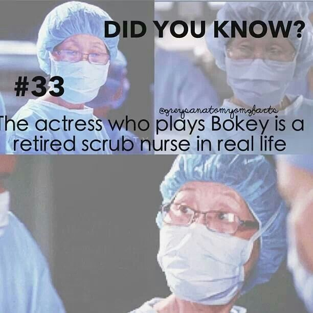 She's always there. The ONE thing that doesn't change in Greys Anatomy!