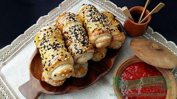 Rulouri cu Mozzarella, gustare rapida, gustare calda, sau ideal pentru pachetel de pus la scoala.Poate sa fie si un aperitiv rapid cu mozzarella.