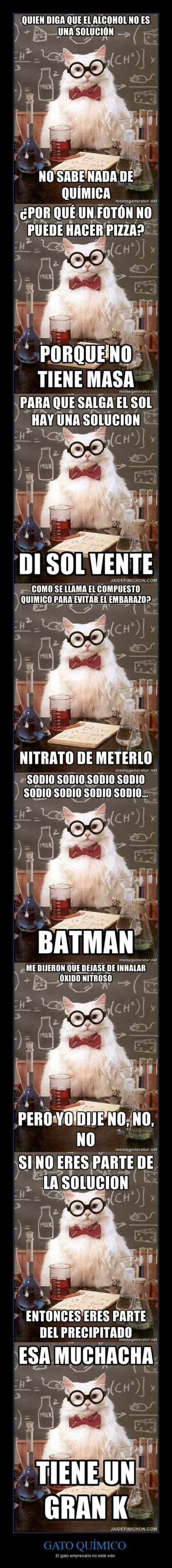 I didn't know chemistry memes were in Spanish too MI VIDA ESTA COMPLETA!