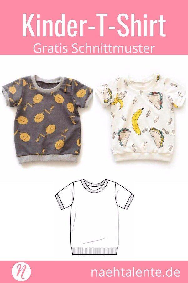 tolle Auswahl bester Service Großhändler T-Shirt für Kinder - Freebook für Kurz- und Langarmshirts ...