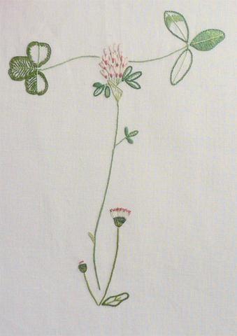 Field Flowers Alphabet - T