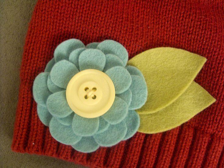 heidi stock | blog: Repurposed Sweater = New Winter Hat for Adelle