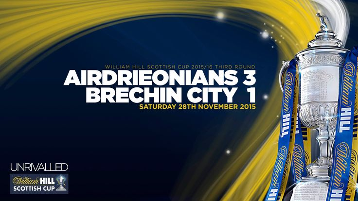 Airdrieonians 3-1 Brechin City | William Hill Scottish Cup 2015/16 - Rou...