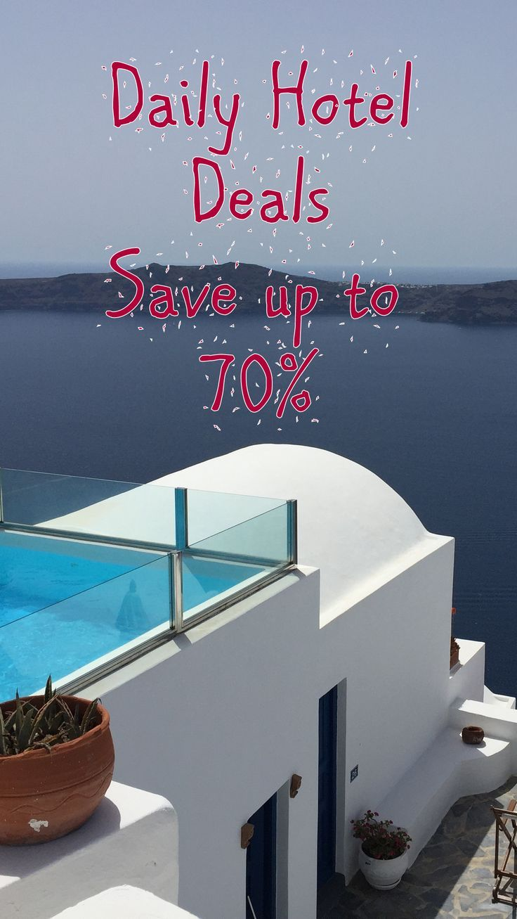 Daily Hotel Deals - Save up to 70%  All the top travel deals and discounts from the top networks. Save big when all the top providers for flights, package vacations, all inclusive, hotels and resorts
