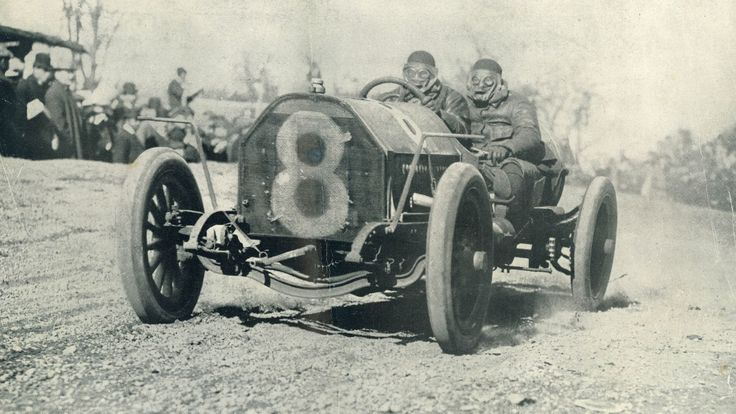 Before the Indy 500, there was the Vanderbilt Cup, the first car race in America to pull in major international competitors. Around the turn of the century, it was one of the most prestigious races in the world. What's more, it took place on public roads in Long Island, New York, roads that are still open today.